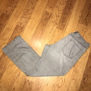 {Gap} Straight Fit Jeans Gray Faded size 35x30